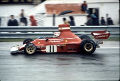 Clay Regazzoni Ferrari 1974 - not sure where, suspect Jarama Spain