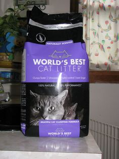 World's Best Cat Litter Scented Multiple Cat Clumping Formula Review - #catmeow - Catsincare.com!