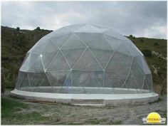 Geodesic Domes with PVC covers