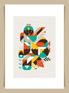 LouLou & Tummie – 'Flowers & Geometrics' Art Print | Illustration and Art News for Illustrators and Artists