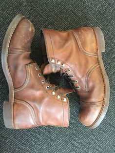 Some toe/heel scuff but otherwise no major issues (eyelets intact, no rips or tears). | eBay!