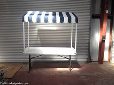 ice cream/lemonade stand canopy