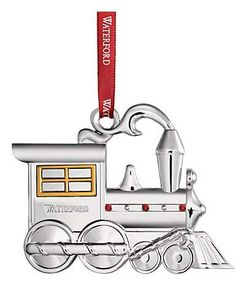 Waterford 2015 Train Engine Ornament
