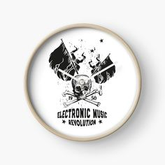 Electronic Music ☆ ELECTRO Music Revolution von Tonony | Redbubble Electro Music, Revolution, Flower Power, Electronics, Consumer Electronics