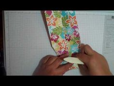Orgami Shirt Card: How to make an Origami Shirt Card and Treat Holder by Dania Welch