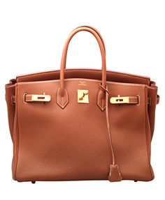 The ultimate- Hermès birkin 35cm. Togo leather, gold hardware, F stamp. Comes with the original box.