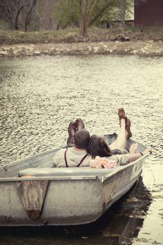 row boat photo shoot - Google Search