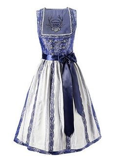 Dirndl, Country Line - Blau - COUNTRY LINE