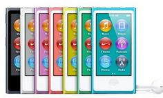 Enter to win aApple iPod nano 16GB (7th Generation) NEWEST MODEL.    The redesignediPod nano–available in seven colors and a 16 GB capacity–looks like a tiny iPod touch. The 7th generation iPod nano features a 2.5-inch display, FM radio, widescreen video, Bluetooth, pedometer, Nike+ support, and a 30-hour battery life.