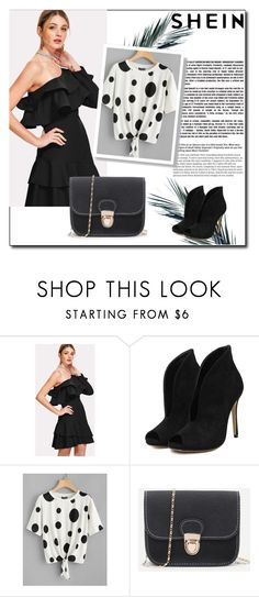 """// SHEIN // 1/VIII"" by lightstyle ❤ liked on Polyvore featuring modern"