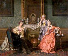 The Athenaeum - Afternoon Tea (Jean Carolus - )