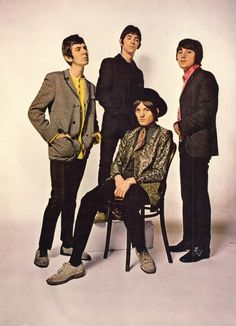 Watched a BBC 4 documentary and The Small Faces were very stylish. 60s Music, Music Love, Rock Music, Faces Band, Steve Marriott, The Kinks, Swinging London, We Will Rock You, British Rock