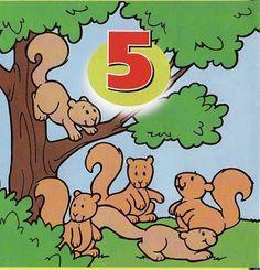 EDUCAÇÃO INFANTIL - Profª DESSIRE: Numerais de animais colorido para decorar sala (1-10) Learning Numbers, Math Numbers, Letters And Numbers, Math 2, Kindergarten Math, Math Games, Preschool Learning, Teaching, Exploration