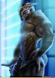 Mass Effect 3 randkowa liara matowy bursztyn