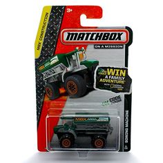 SOWING MACHINE (GREEN) * 2014 MBX CONSTRUCTION * Matchbox 1:64 Scale Basic Die-Cast Vehicle (31 of 120) * More info could be found at the image url.