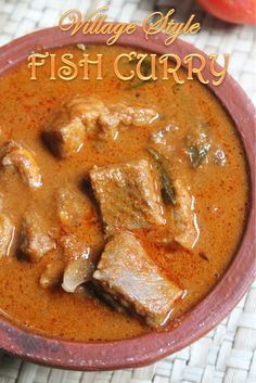 YUMMY TUMMY: Village Syle Fish Curry Recipe / Gramathu Meen Kuzhambu Recipe