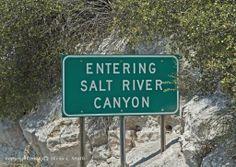 Arizona Salt River Canyon and White Mountains