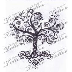 Adoption Infinity Symbol Tattoo | Tree Of Life With Infinity Symbol 13204 Createmytattoocom