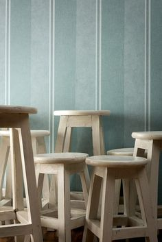 AS Creation Elegance 3 - 305204 Textiellook blauw - Decokay Behangshop Montage, Bar Stools, Creations, Turquoise, Elegant, Chair, Furniture, Home Decor, Material