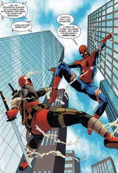 ✭ Deadpool vs Spider-Man