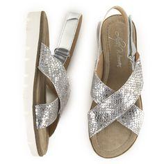 Sandalia plana piel ALPE Outlet, Sandals, Shoes, Fashion, Flat Sandals, Vacations, Winter, Fur, Women