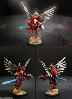 Blood Angels Space Marines Captain