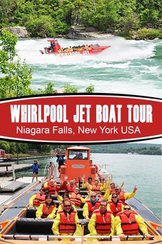 Whirlpool Jet in Niagara Falls (New York USA) Travel Vacation List Holiday Tour Trip Destinations Usa Travel Guide, Travel Usa, Travel Tips, Travel Hacks, Budget Travel, Travel Guides, Travel Packing, Solo Travel, Niagara Falls New York