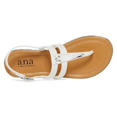 8a98012106776 a.n.a Sweeny Womens Flat Sandals - JCPenney Womens Flats