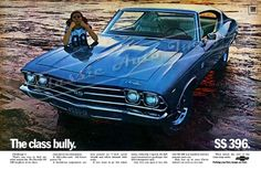 1969 Chevelle SS 396 ad