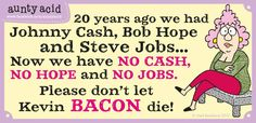 Share this if you love bacon!  See more @ www.gocomics.com/aunty-acid