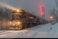 RailPictures.Net Photo: NECR 3845 437 New England Central EMD GP38 at White River Junction, United States by Kevin Burkholder