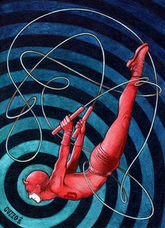 Daredevil Character from Marvel Comics by lauraguzzo on Etsy, $5.00