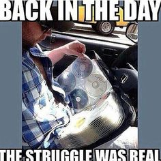 OMG, yes! Real struggle - today's kids will never know.