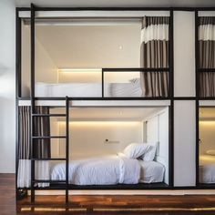 Located in the Old Town area of Chiang Mai, HOSTEL by BED offers both private and dormitory rooms with free WiFi in all area. Room, Bed Design, Hostel Room, Bedroom Design, Hotel Room Design, Bunk Bed Rooms, Hostels Design, Dream Rooms, Dormitory Room