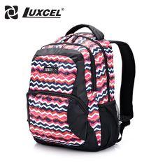 ff70a20dc3a4 Luxcel women backpack preppy style school backpacks original brazil design mochila  fashion rucksack W printing