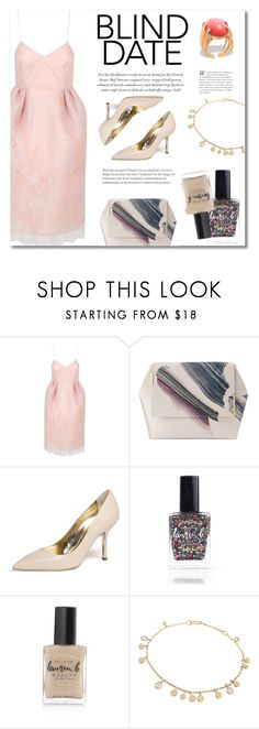 """""""Dress to impress: Blind date"""" by runway2street ❤ liked on Polyvore featuring The 2nd Skin Co., Emy Mack, Lauren B. Beauty and Hissia"""