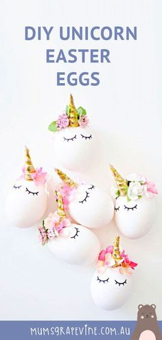 19 Easter Egg Decorating Ideas DIY Unicorn Easter eggs - a sweet idea to remembe., 19 Easter Egg Decorating Ideas DIY Unicorn Easter eggs - a sweet idea to remembe. Confetti Eggs, Easter Crafts For Kids, Easter Decor, Easter Ideas, Kid Crafts, Kitchen Ornaments, Easter Brunch, Easter Snacks, Easter Party