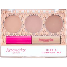 Accessorize Hide and Conceal Me' Concealer (18 CAD) ❤ liked on Polyvore featuring beauty products, makeup, face makeup and concealer