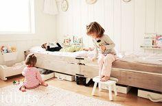 Dormitorio compartido para niños ¿como disponemos las camas?