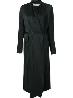 Shop Isabel Benenato long belted coat in H. Lorenzo from the world's best independent boutiques at farfetch.com. Shop 300 boutiques at one address.