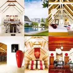 modern interiors of Peter Falke Winery