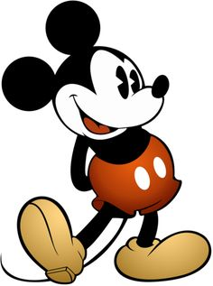 9ac6783e247 LOUISE LOVES ART by Kelly Light + black and white and red Mickey Mouse  Vintage