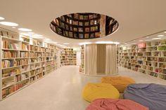 Book Shop Design   Retail Design   Book Display   Da Vila Bookstore: Underground Floor