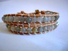 labradorite wrap bracelet...my favorite stone!