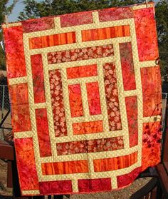 Doorway to China Quilt (Pattern located at http://patsloan.typepad.com/files/china-challenge-block.pdf)