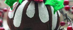 Christmas Pudding Tree Decorations
