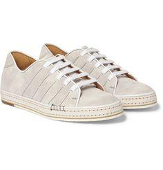 Berluti - Playfield Suede Sneakers|MR PORTER