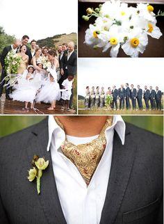 Ascotts - Love this look much better than a regular tie! Wedding Wear, Wedding Suits, Wedding Bride, Wedding Blog, Countryside Wedding, English Countryside, Santa Ynez Valley, Gray Weddings, Groom Attire