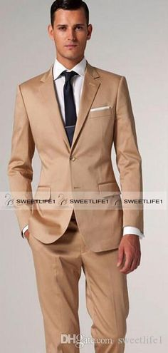 2016 New Arrival Men'S Suits Formal Groom Tuxedos Slim Groomsmen Suits Personalized The Most Suitable Suits For Wedding Party Jacket+Pants Groom Tuxedos Italian Suits For Men From Sweetlife1, $71.3| Dhgate.Com