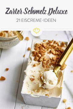 Eiscreme - che bello!Lass dich von unseren 21 Eiscreme-Rezepten zum Eis selber machen verführen.